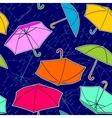 Umbrellas Pattern vector image vector image