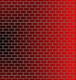 wall brick backround vector image