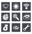 Color icons for Web Design set 46 vector image