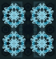 abstract pattern antique ornament vector image