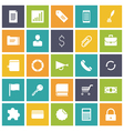 icons plain tablet business commerce vector image vector image
