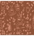 Coffee doodling vector image