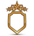 stylized festive symbol isolated on white vector image