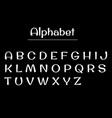 alphabet letters alphabet white letters vector image