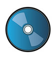 cd rom icon vector image
