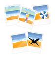 travel picture and frame vector image