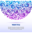 shiny glowing background vector image