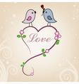 Card san Valentin vector image vector image
