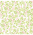summer and spring background with leaves and vector image
