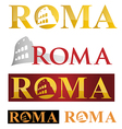 rome icon symbol isolate on white background vector image vector image