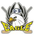 Hockey Eagle vector image