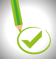 Survey icon design vector image