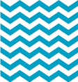 Beautiful aqua blue and white chevron pattern vector image