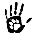 dog - mans best friend vector image