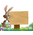 easter background sign vector image
