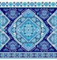 Bohemian indian mandala towel print vintage henna vector image