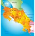 Costa Rica vector image vector image