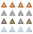 Triangular Blocks For Physics Game 2 vector image