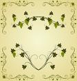 grape twig ornate for design labels - vector image vector image