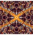 thai floral decorative ornamental seamless vector image