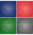 Four different versions jeans texture vector image vector image