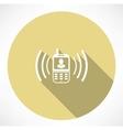 Building company contact icon vector image vector image