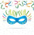 carnival mask illsutration vector image