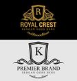 Royal Brand Logos vector image
