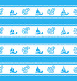 seamless pattern with anchors ongoing backgrounds vector image