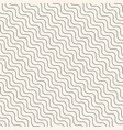 diagonal thin wavy lines seamless modern pattern vector image