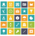 icons plain tablet business money vector image vector image