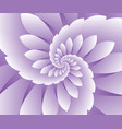 abstract purple floral background vector image