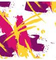 fancy brushstroke easy pattern in pink vector image