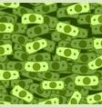 dollar rain pattern vector image