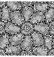 Ornamental floral background vector image