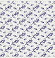 pen rose and leaves seamless pattern vector image