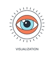Visualization vector image
