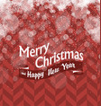 Merry Christmas Abstract Lights Background Stars vector image vector image