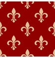 French floral royal seamless pattern vector image