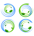 set of an environmental icons vector image