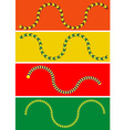 Moving Snake vector image