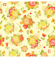 Cute seamless pattern with decorative rosettes vector image vector image