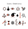 set of chemical elements vector image