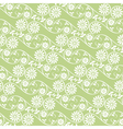 Background swirling floral elements vector image vector image