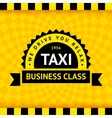 Taxi symbol with checkered background - 07 vector image