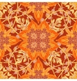 Gorgeous seamless patchwork pattern from blue vector image
