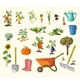 gardening set vector image