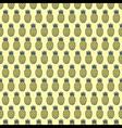 pineapple fruit pattern background design vector image