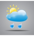 Weather Icon for Your Design vector image