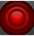 Red metal round shapes vector image